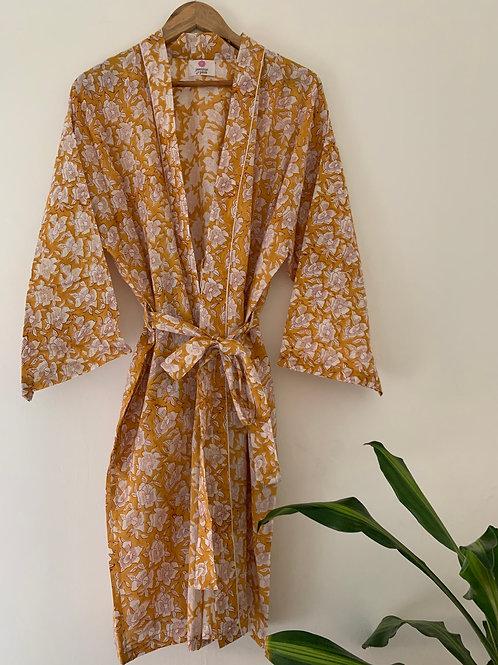 Jaipur Robe Short - Coromandel Sunrise
