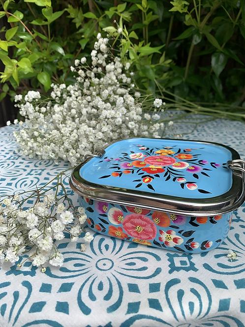 Kashmir Lunchbox - Blue