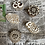 Thumbnail: Hand carved wooden blocks  (set 1)
