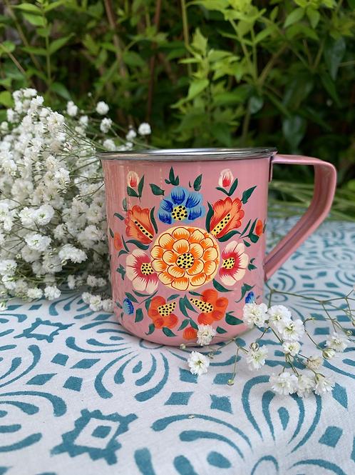 Kashmir Mug - Pink