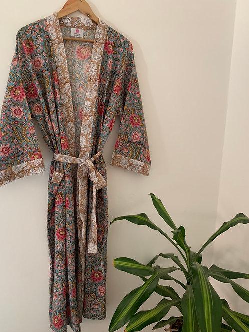 Jaipur Robe Long - Secret Garden
