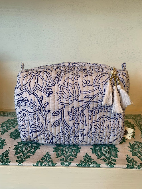 Pichola washbag - Medium white