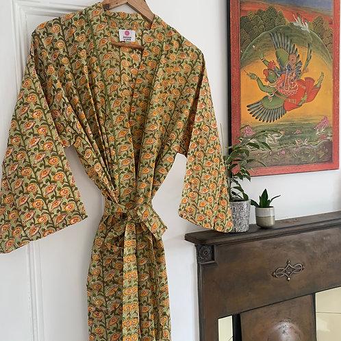 Jaipur Robe Short - Meadow