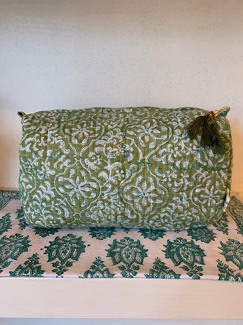 Pichola washbag - Large green