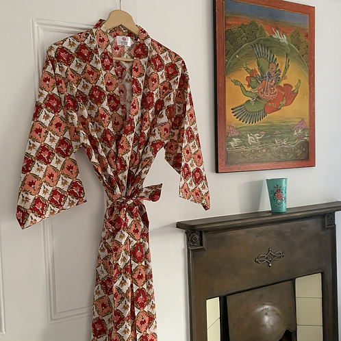 Jaipur Robe Short - Flame of the Forest