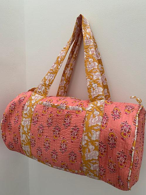 Malabar Weekend Bag - Amber Blossom