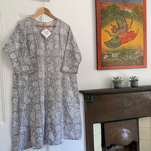 Anjuna Dress - Grey Garden
