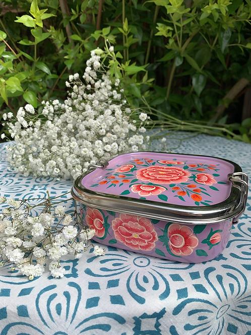 Kashmir Lunchbox - Purple