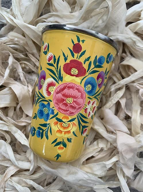 Kashmir Tumbler - Yellow