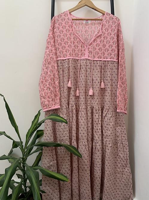 Lotus Dress - Jaipur Pink