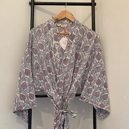Jaipur Robe - Grey Daze