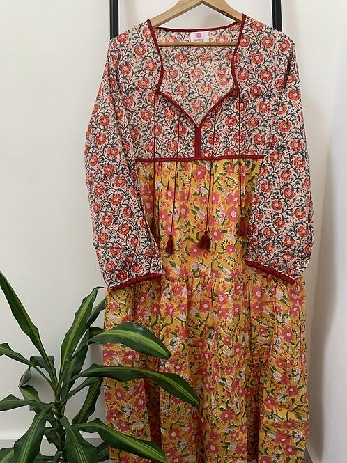 Lotus Dress - Indian Sunshine