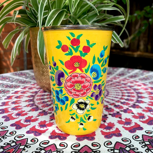 Kashmir Tumbler  - Yellow