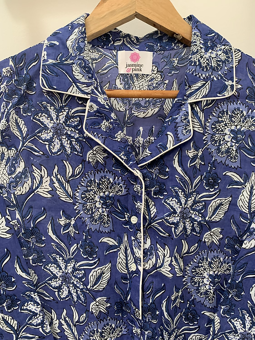 Haridwar Lounge Shirt - Bundi Blossom