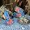 Thumbnail: Kashmir 3-Tier Tiffin - Blue