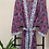 Thumbnail: Jaipur Robe Long  - Midnight Blossom