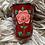 Thumbnail: Kashmir Mini Tumbler  - Red and Pink Bloom