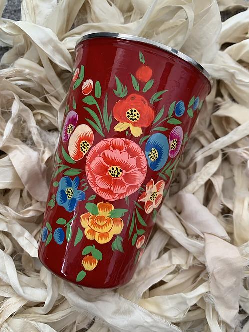 Kashmir Tumbler - Red