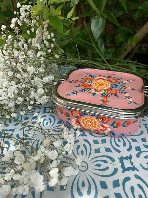 Kashmir Lunchbox - Pink