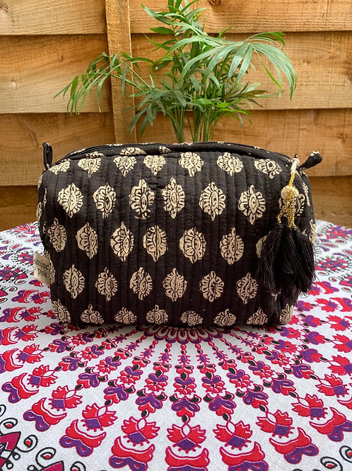Pichola washbag - Medium Black