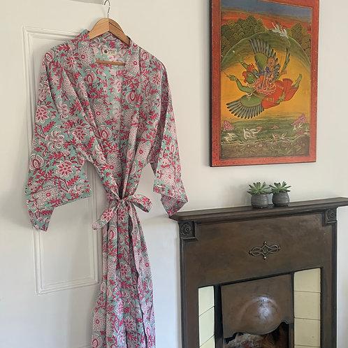 Jaipur Robe - Summer Blooms