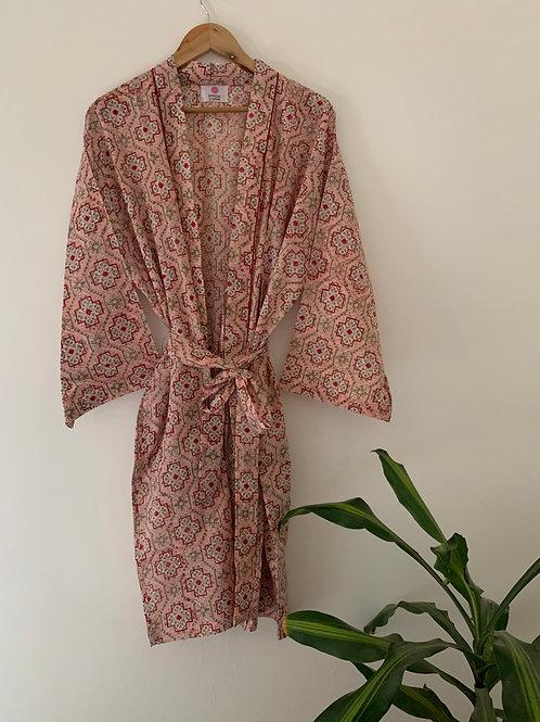 Jaipur Robe Short - Blossom