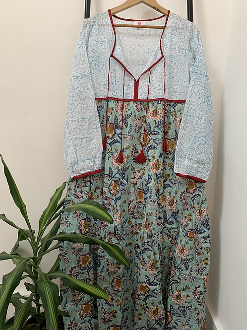 Lotus Dress - Jungle Blooms