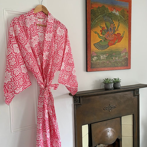 Jaipur Robe - Himalayan Pink