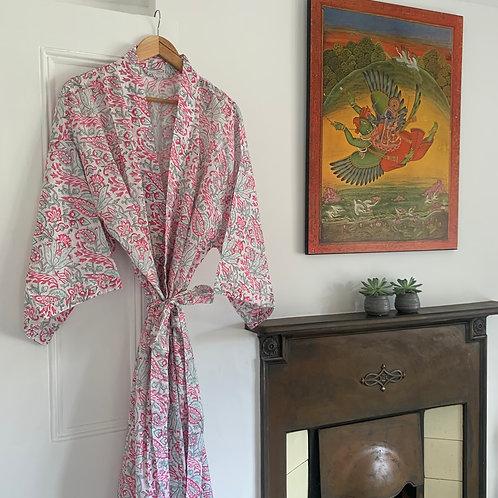 Jaipur Robe - Minty Pink