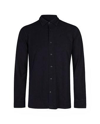 Camicia in piquet tinto capo