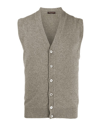 Gilet in cashmere