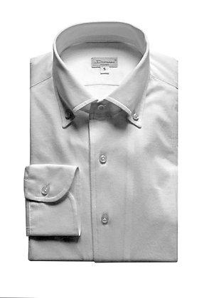 Button-down shirt in light piquet