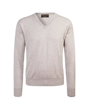 V-neck in cashmere