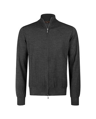 Zip lunga in lana-seta-cashmere