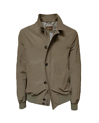Jacket with shirt colla