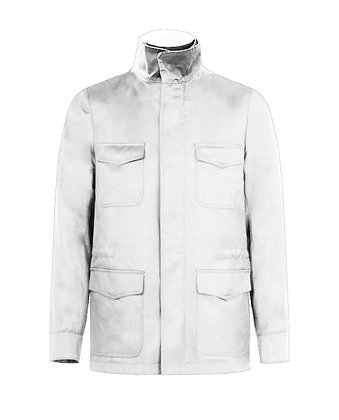 Safari jacket in cotton