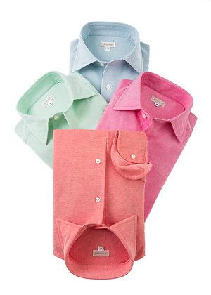 Polo shirt in piquet