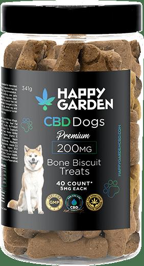 Biscoitos de cão com CBD