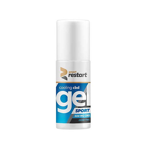 COLD EFFECT MUSCLE RELIEF GEL / 500 MG CBD / ZERO THC