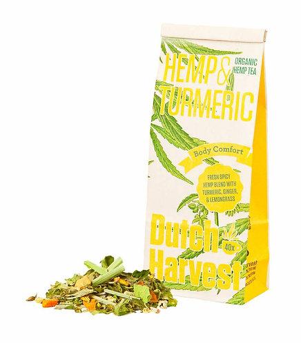 Hemp and saffron tea / 50gr