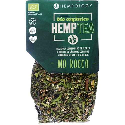 Hemp tea with mint and green tea