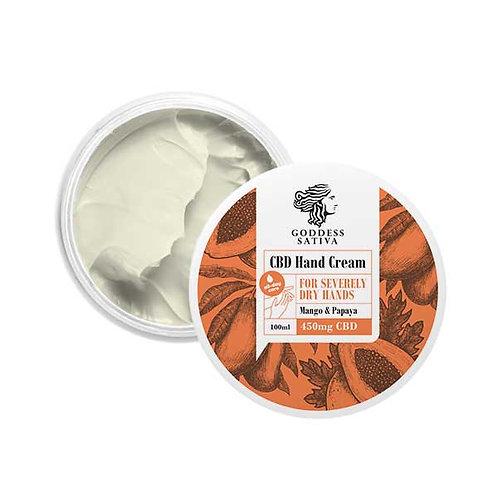 Dry hand cream 450mg CBD, 100 ml