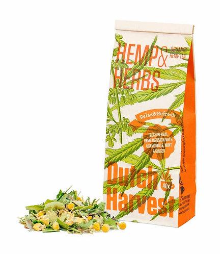 Hemp and herbal tea / 40gr