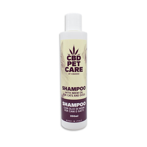 Shampoo for dogs and cats