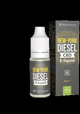E-liquid New York Diesel 10ml / 3% CBD