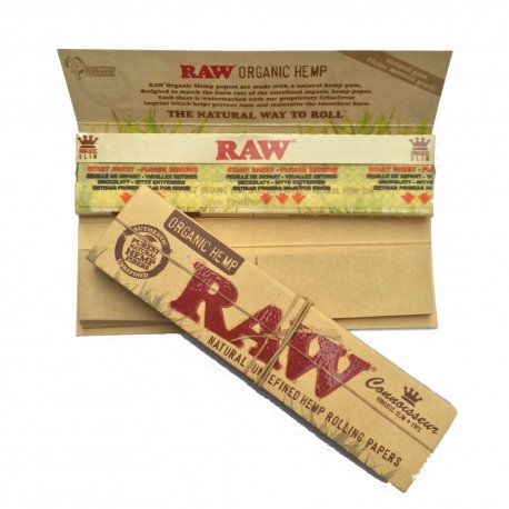Raw Smoking Papers 1 1/4 + filters