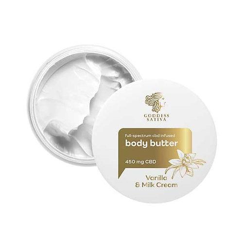 CBD Vanilla full-spectrum cbd cream