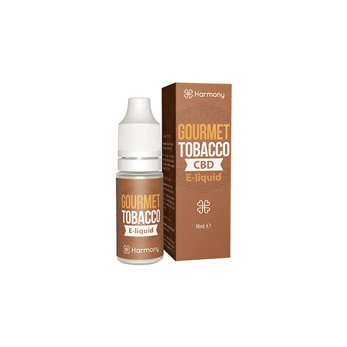 E-liquid Gourmet Tobacco 10ml / 3% CBD