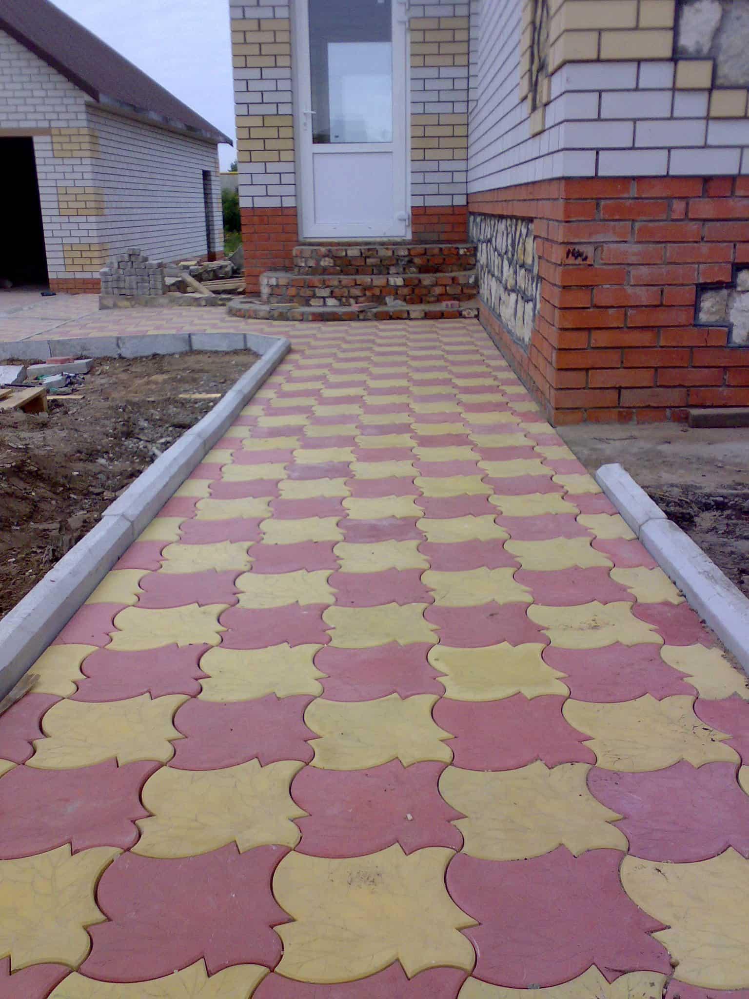 Тротуарная плитка Клен