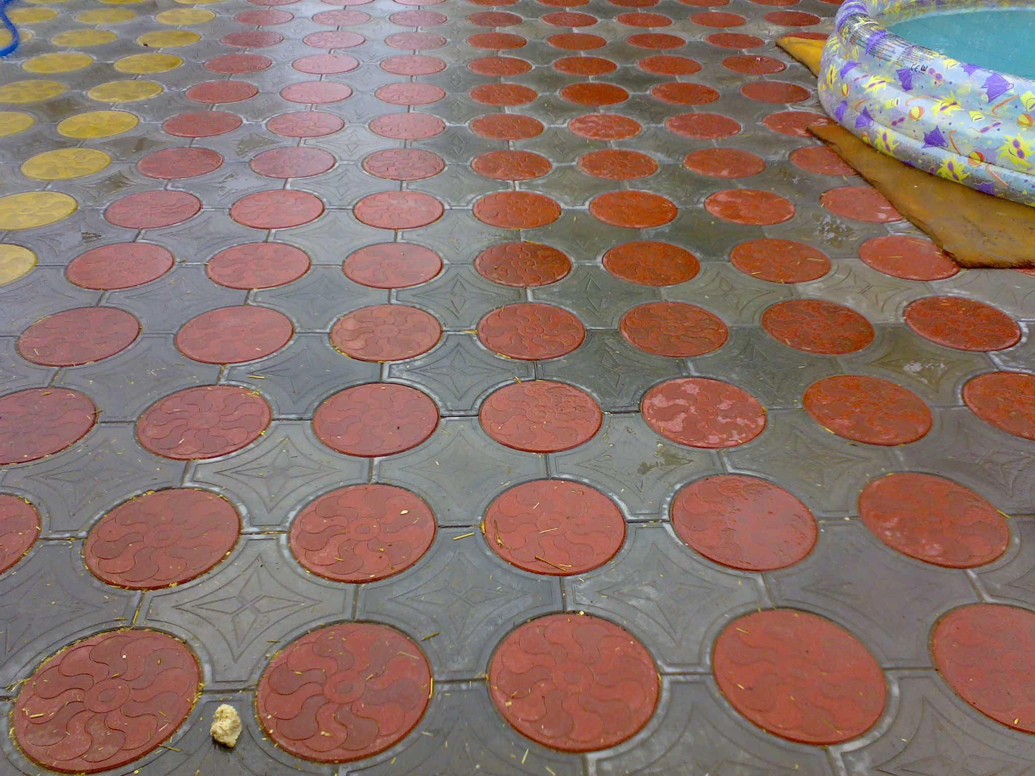Тротуарная плитка Кружева